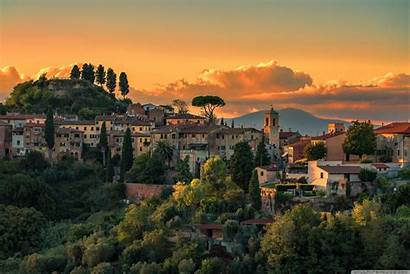 Italy Tuscany Villages Desktop 4k Background Wallpapers