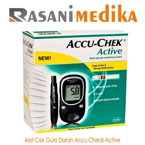 Accu Check Alat Monitor Gula Darah alat cek gula darah accu chek active rasani medika