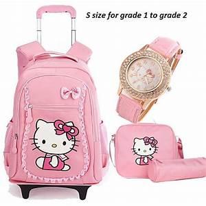 hello children school bags mochilas backpacks