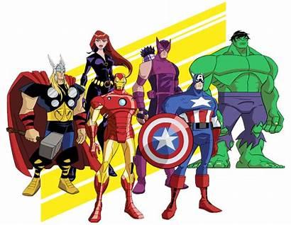 Avengers Clipart Clip Cartoon Heroes Superhero Birthday
