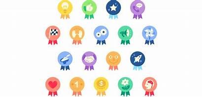 Praise Improvements Badges Purpose Employees