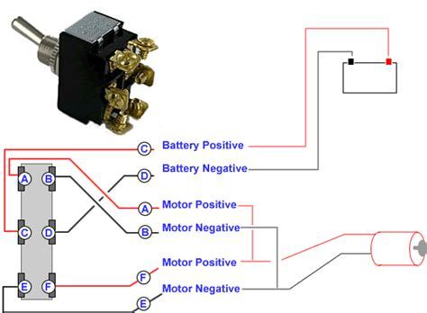 Connecting Terminal Toggle Switch Motor