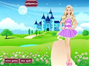 Princess Barbie Dress Up Game