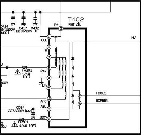 solucionado lg cp 14k70 con fuga de screen a green yoreparo