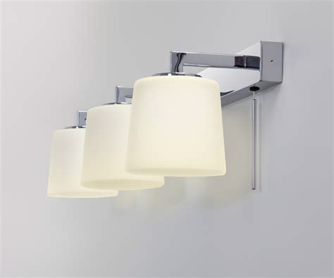 astro triplex bathroom mirror wall light 3 x 40w g9 switch