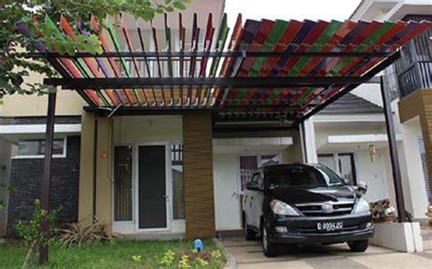 struktur atap carport kanopi sunlouvre atap
