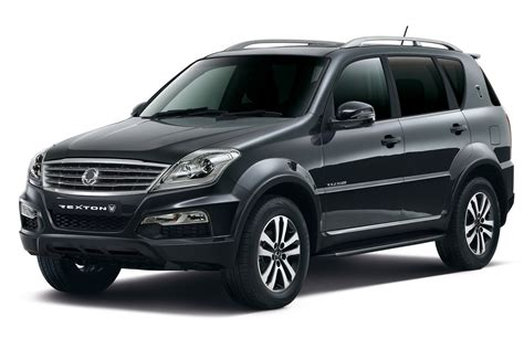 New Ssangyong Rexton W Revealed