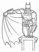 Coloring Pages Children Years Batman Print Printable Joker sketch template
