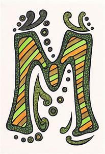 lorrie whittington letter art prt ii With letter artwork