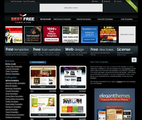 best website templates free top websites to free website templates oct 2018 wg