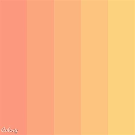 color palette wedding in 2019 orange color palettes