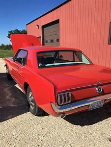 1st generation classic red 1965 Ford Mustang For Sale - MustangCarPlace