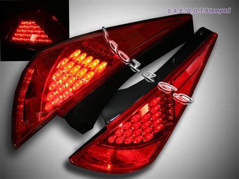 nissan 350z tail lights 03 05 06 nissan 350z z33 z fairlady red led tail lights ebay