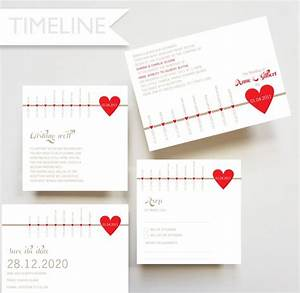 timeline invitation rsvp card save the date card With timeline for wedding invitations and rsvp