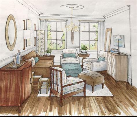 Living Room  Sketch  Sketch Inspiration Drawing