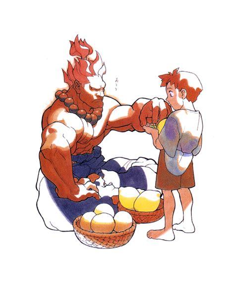 Akuma Gouki Street Fighter Art Gallery