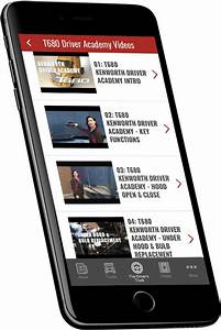 Kenworth Essentials App For Smartphones And Mobile Devices