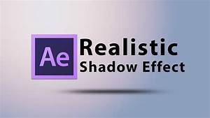 Create a Realistic Shadow Text Effect Intro in After ...
