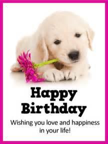 Happy Birthday Card Puppies