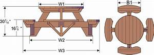 free woodworking plans round picnic table woodideas
