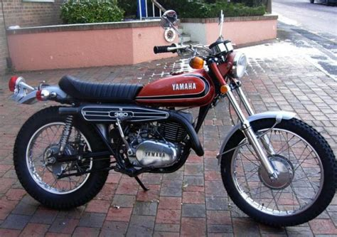 Yamaha Rt3 360cc Classic Motorcycle Pictures