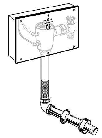 American Standard 1.1 gpf Single Flush Toilet Automatic