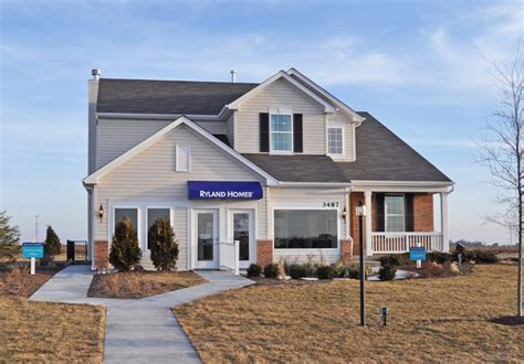 Ryland Homes Design Center Dundee Il by Ryland Homes Grand Opens Model At Ingham Park In