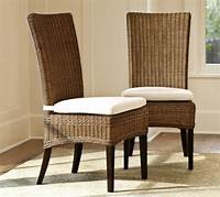 wicker dining room chairs Jacquelyne Dining Chair - Pottery Barn