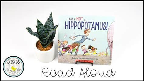 hippopotamus read aloud