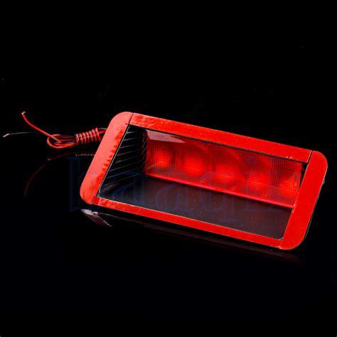 brake light inspection cost universal red 5smd led 12v car third 3rd brake tail light