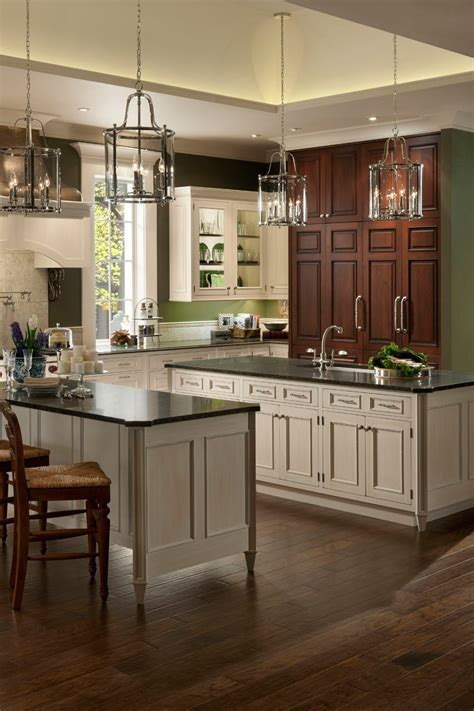 Wood Mode Brookhaven   Custom Kitchen Cabinets   Gramercy