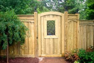 Wood Fence Gates Design