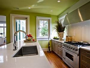 Paint colors for kitchens pictures ideas tips from for Kitchen colors with white cabinets with 4 murs papier peints