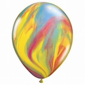 Little Boo-Teek - Qualatex Balloons Rainbow Marble