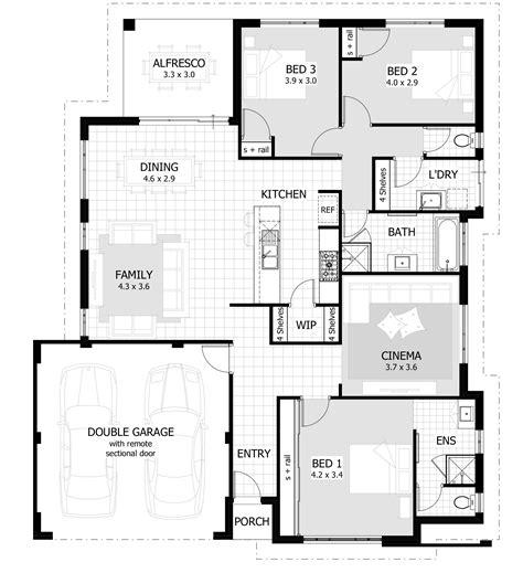 3 bedroom home plans 3 bedroom house plans home designs celebration homes