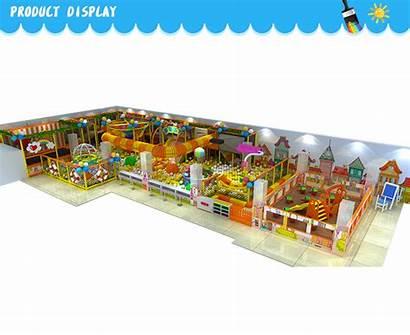 Playground Pool Indoor Amusement Labyrinth Children Park