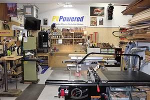 Steve's Spacious Garage Woodshop - The Wood Whisperer