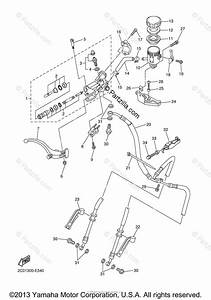 Yamaha Motorcycle 2006 Oem Parts Diagram For Front Master Cylinder