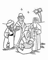 Jesus Coloring Wise Three Pages Manger Christmas Nativity Kings Magi Getcolorings Printable sketch template