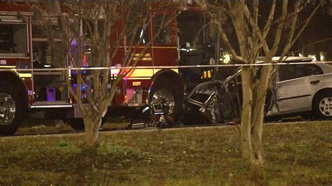 1 Killed, 2 Injured In Crash With Fire Truck