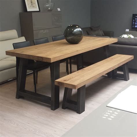 wood steel dining table zeus wood metal dining table scott doesn 39 t like the