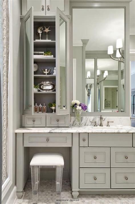 Bathroom Vanities With Makeup Vanity by Best 25 Bathroom Makeup Vanities Ideas On