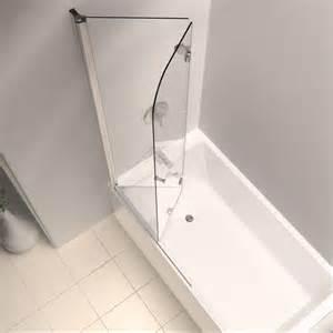 home depot bathtub doors dreamline aqua fold 36 in x 58 in semi framed pivot tub