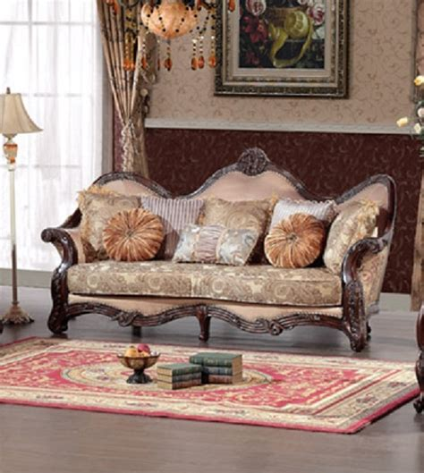 best fabric for sofa upholstery best furniture 389 wood trim peach blossom fabric sofa