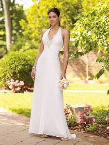 simple halter wedding dress sang maestro With simple halter wedding dress