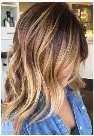 ombre hair cheveux mi longs inspirez vous coiffure