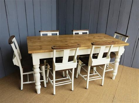 White Dining Table And Chairs For Sale farrow and lime white paint reclaimed pine farmhouse