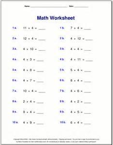 mathematics times tables worksheets multiplication worksheets for grade 3