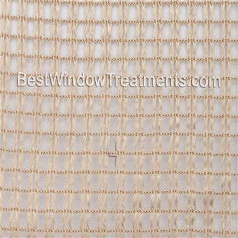 rockland gold net sheer curtain panel extra long 108