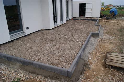beton für randsteine albert schweitzer stra 223 e terrasse